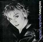 Papa Don't Preach - Madonna single cover