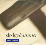 Sledgehammer - Peter Gabriel single cover