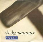 Sledgehammer - Peter Gabriel single cover