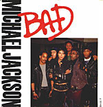 Bad - Michael Jackson single cover