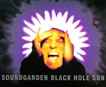 Soundgarden - Black Hole Sun single cover