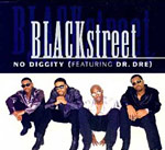 No Diggity single cover