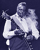 Blues guitarist Albert King