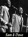 R&B singers Sam and Dave