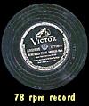78 rpm record