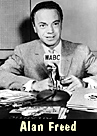 Disk Jockey Alan Freed