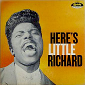 Here's Little Richard album cover