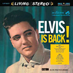 Elvis Is Back album cover