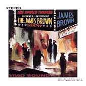 Live At The Apollo James Brown album cover