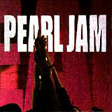 Ten Pearl Jam album cover