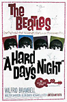 "The Beatles movie ""A Hard Days Nigh"" poster"