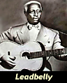 folk and blues singerand guitarist Leadbelly