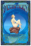 Image of poster for Moody Blues concert