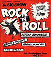 rock 'n' roll show poster