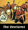 Instrumental rock band The Ventures