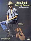 Bad, Bad Leroy Brown by Jim Croce sheet music cover