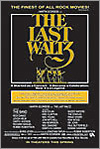 The Last Waltz by the Band poster