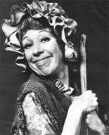 Comedic actress Carol Burnett