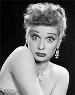Comedic actress Lucille Ball