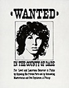 jim morrison wanted poster