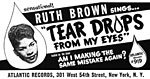 Ruth Brown - Teardrops From My Eyes