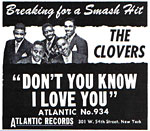 The Clovers - Don't You Know I Love You