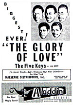 Glory Of Love by the Five Keys