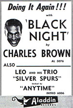 Charles Brown - Black Night