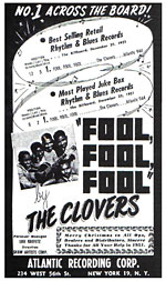 The Clovers - Fool, Fool, Fool