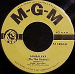 Jambalaya 45 record lable