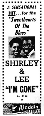 Shirley and Lee poster