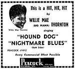 Hound Dog - Willie Mae Thornton