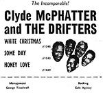 Clyde McPhatter and the Drifters poster