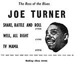 Joe Turner poster