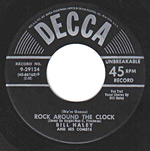 Rock Around The Clock 45 rpm record