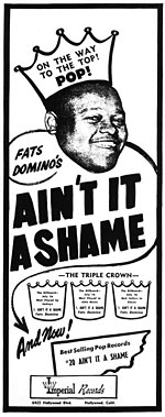 Fats Domino - Ain't It A Shame - Ad