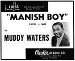 Manish Boy - Muddy Waters - Ad