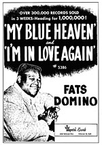 My Blue Heaven - Fats Domino - Ad