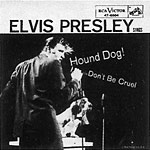 Elvis Presley Hound Dog single cover