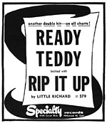 Little Richard - Ready Teddy/Rip It Up - Ad
