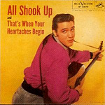 Elvis Presley - All Shook Up single sleve
