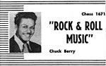 Chuck Berry - Rock And Roll Music - Ad