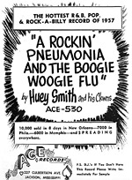 Rocking Pneumonia & the Boogie Woogie Flu - Ad