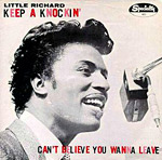 Little Richard - Keep A 'Knockin' single sleve