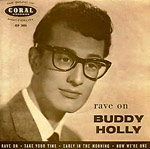 Buddy Holly - Rave On single sleve