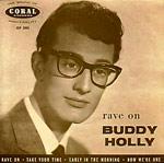 Buddy Holly - Rave On single sleve