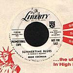 Eddie Cochran - Summertime Blues record