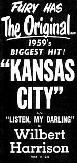 Kansas City old record ad