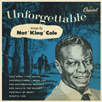 Unforgettable by Nat King Cole 45 rpm single sleeve