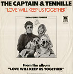 Love Will Keep Us Together record cover
